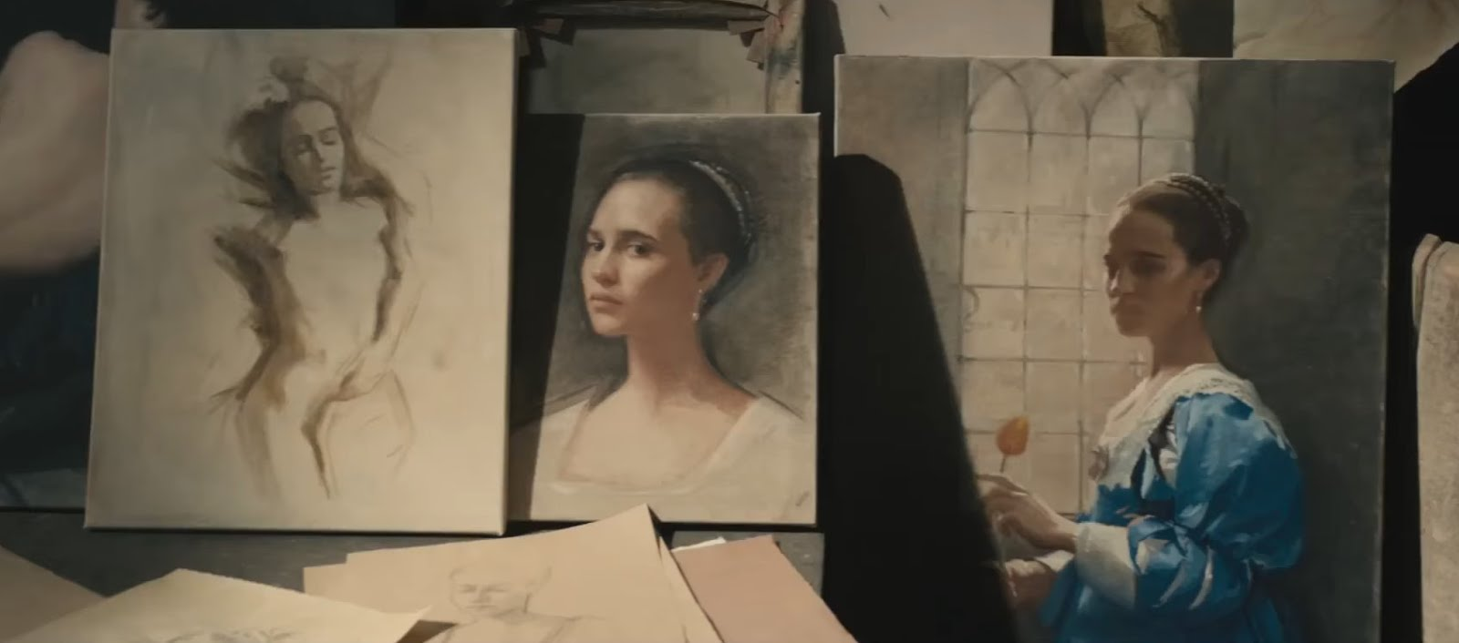 Fine Art Commissions: PORTRAITS IN FILM: Commissions for Tulip Fever